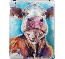Optimistic Cow iPad Case/Skin