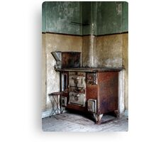 22.10.2014: Rusty Oven Canvas Print