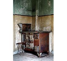 22.10.2014: Rusty Oven Photographic Print