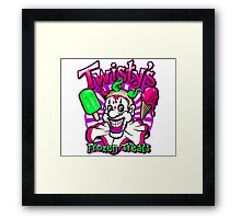 Twisty's Frozen Treats Framed Print