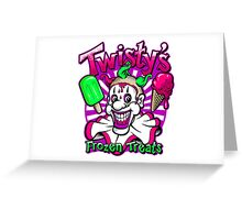 Twisty's Frozen Treats Greeting Card