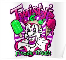 Twisty's Frozen Treats Poster