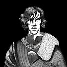 The Hollow Crown - Shakespeare's Richard III (b&w) by NadddynOpheliah