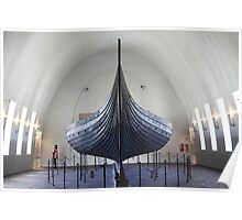 The Gokstad Viking Ship  Poster