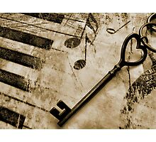 The Key To My Heart Photographic Print