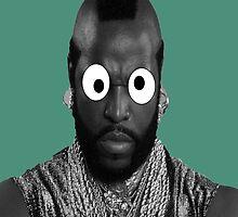 MR. T Googly eyes by BrechtCav
