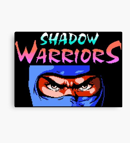 Shadow Warriors (NES) Canvas Print