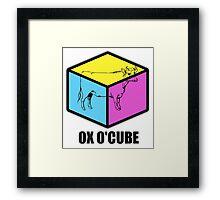 Ox O'Cube Framed Print