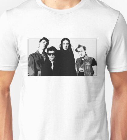 The Young Ones B&W Unisex T-Shirt
