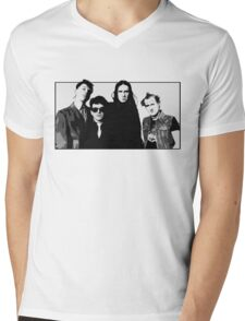 The Young Ones B&W Mens V-Neck T-Shirt