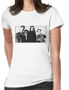 The Young Ones B&W Womens Fitted T-Shirt