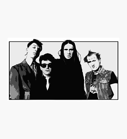 The Young Ones B&W Photographic Print