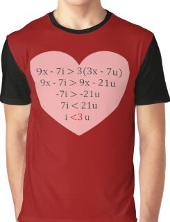 Equation of Love Graphic T-Shirt