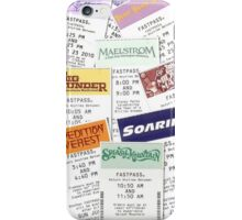 Disney Fastpass phone case featuring Maelstrom iPhone Case/Skin