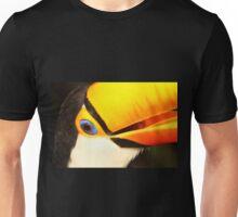 Detailed Portrait of a Toco Toucan at Iguassu, Brazil.  Unisex T-Shirt