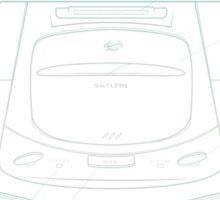 Saturn Sticker