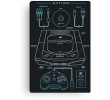 Saturn Canvas Print