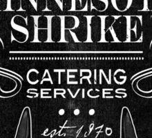Minnesota Shrike Catering Sticker