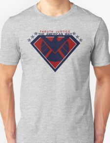 THRUTH JUSTICE THE AMERICAN WAY T-Shirt