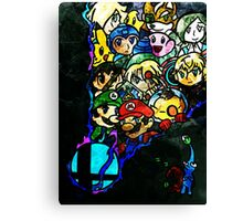 Super Smash Bros Canvas Print