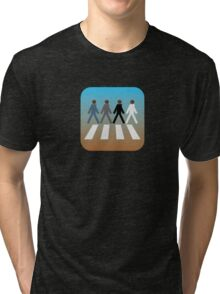 There's an app for that Abbey Road Tri-blend T-Shirt