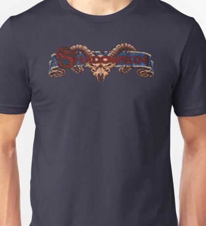 Shadowrun (SNES Title Screen) Unisex T-Shirt