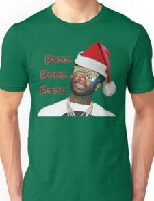 Gucci Mane Brrr Brrr Brrr Santa- Christmas Unisex T-Shirt