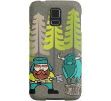 Lumberjack Attack: Paul and Babe Samsung Galaxy Case/Skin