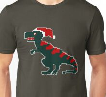 Christmas Dinosaur Santa Claus Unisex T-Shirt