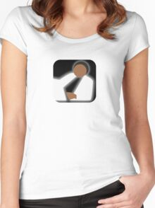 There's an app for that Thriller Women's Fitted Scoop T-Shirt