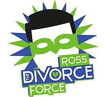 Ross, The Divorce Force - Friends Photographic Print