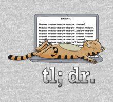 Too long; didn't read (Beige) Kids Tee