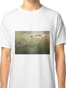 Getting wet in a row Classic T-Shirt