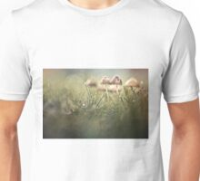 Getting wet in a row Unisex T-Shirt