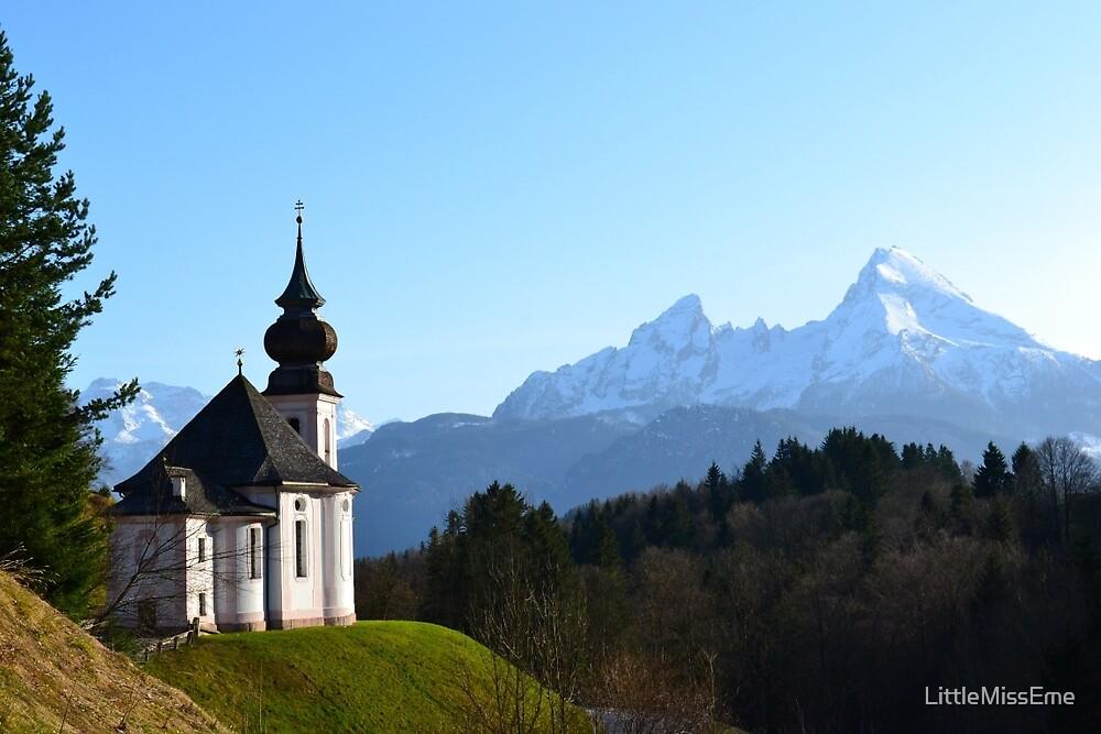 The Alpine Church by LittleMissEme