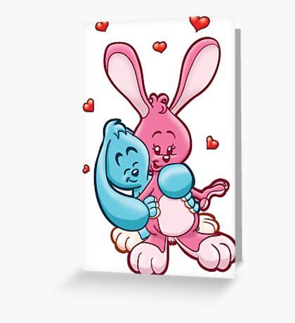 HeinyR- Bunny Love Greeting Card