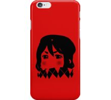Mugi Revolution (Black Stencil) iPhone Case/Skin