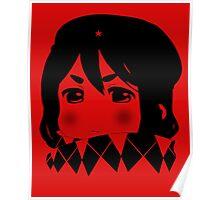Mugi Revolution (Black Stencil) Poster