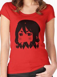 Mugi Revolution (Black Stencil) Women's Fitted Scoop T-Shirt