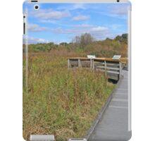 Newport Wetlands Boardwalk iPad Case/Skin