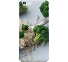 Broccoli and Rice iPhone Case/Skin