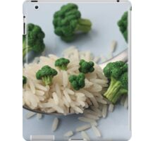 Broccoli and Rice iPad Case/Skin