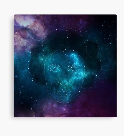 Forever in the stars Canvas Print