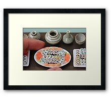 Small Sushi Framed Print