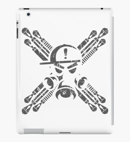 Gas Mask Jolly Roger iPad Case/Skin