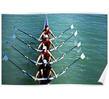 Flatwater Rowers Poster
