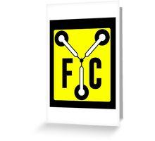 F C Flux Greeting Card
