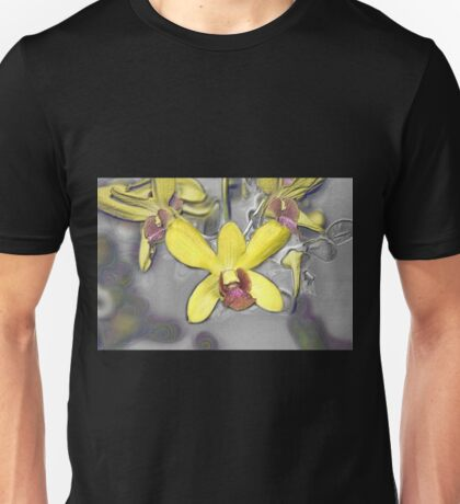 Oil Slicked Orchids Unisex T-Shirt