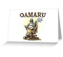 Steampunk Penguin Oamaru Greeting Card