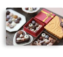 Chocolates for my Sweet Canvas Print